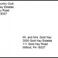 Proper Mailing Address