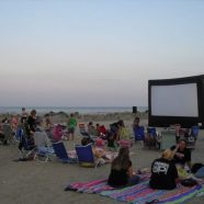 Movies on the Beach every Wednesday night at dusk
