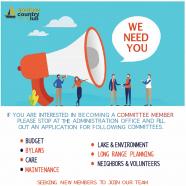 Committee Members Wanted