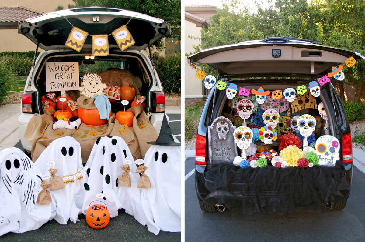car decoration trunk or treat
