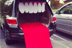 trunk or treat mouth